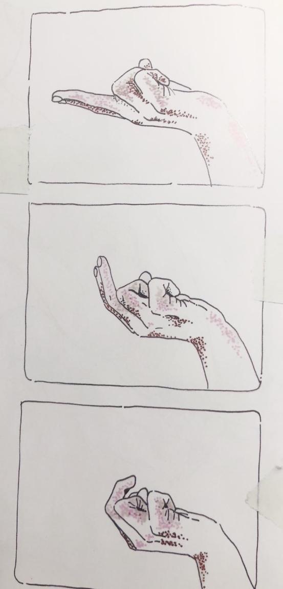 Movimiento de llamada: Ilustración de MagnaFranse en el libro Coño Potens